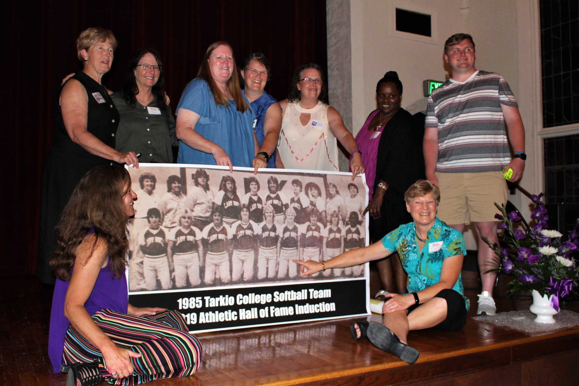 Julie Schoenrock Donna J. Sederburg-Villegas and 1985 Womens Softball Team.jpg